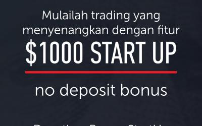 Tentang Start Up Bonus $1000